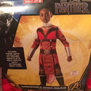 Other - NWT Black Panther Wakandas Dorr Milaje Costume